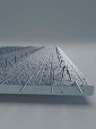 strop prefabrykowany z żelbetu, strop filigranowy
