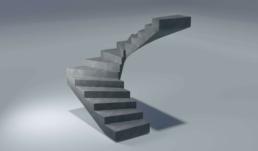 fdu prefab-betonproduct voorbeeld betonnen trap