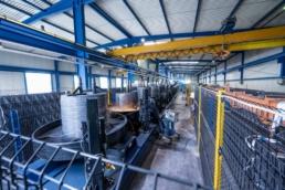 Ultramoderne staalverwerkende machines