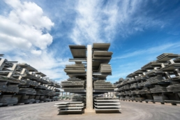 Największy w Europie magazyn elementów betonowych